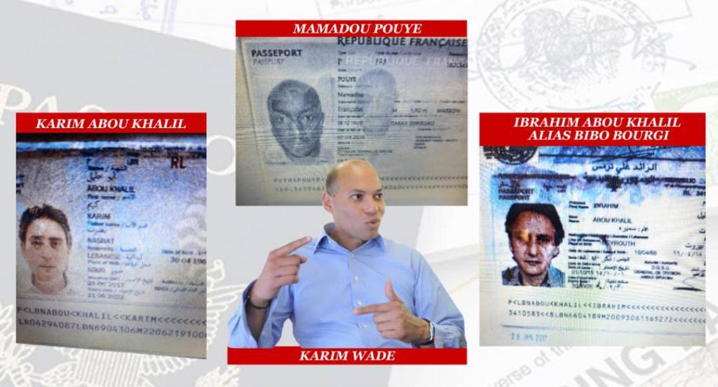 Mamadou Pouye, Bibo Bourgi, Karim Abou Khalil: l'empire offshore verrouillé des amis de Karim Wade